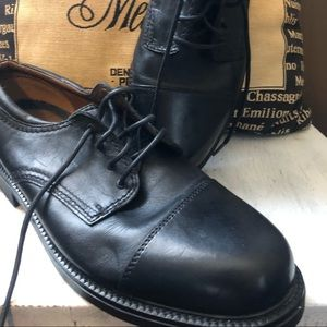 Dockers black leather dress shoes. 10.5M